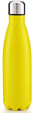 Botella de Agua de Acero Inoxidable de Doble Pared con Aislamiento al Vac/ío Botella de Agua Mantiene Bebidas Fr/ía y Caliente Botella T/érmica Deportiva 17oz Kalavika 500ml
