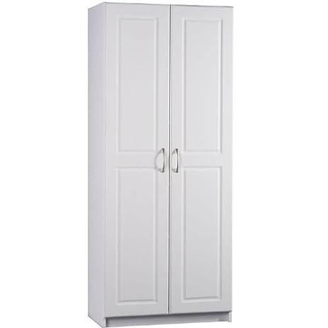 Amazon.com: Ameriwood 7344015Y Deluxe Storage Cabinet, 30-Inch ...