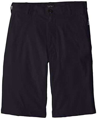 adidas Golf Boys Puremotion Stretch 3 Stripes Shorts, Black/Vista Grey, (Taylormade Childrens Clothing)