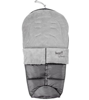 BEBÉ DUE Inuit ND Saco Silla Universal (Grey): Amazon.es: Bebé