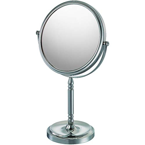 - Mirror Image 86645 Recessed Base Vanity Mirror, 1X and 5X Magnification, Chrome