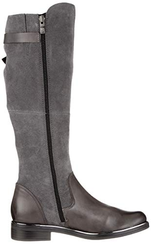 Grey Boots Grey 203 Women's 25523 Dk 203 Caprice Comb Ankle 9 21 9 nq87vqwO0x