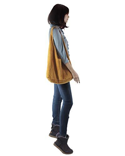 Amarillo la mujer Bolso SA140921GV histoireDaccessoires Natalia para de espalda wfU1anq8a