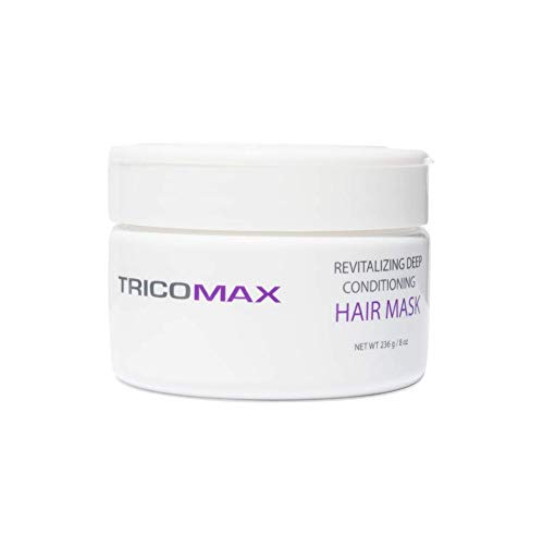 Tricomax Natural Hair Revitalizing Deep Conditioner | Hair Mask Helps to Revitalize Hair and Deeply Condition and Repair| Hair Loss Treatment for Men and Women | 236 gm/ 8 oz
