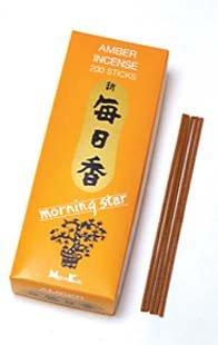 Star Incense White - Nippon Kodo - Morning Star - Amber 200 Sticks