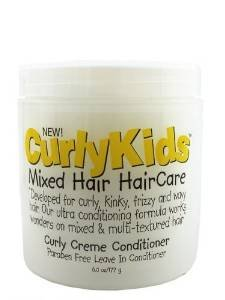 ((2) Curly Kids Mixed Hair Haircare Curly Cream Leave In Conditioners - 6 oz.& includes a (1) FREE Animal Puppet Bath Mitt! - choices vary upon availability! )