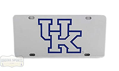 Kentucky Wildcats Officially Licensed NCAA Laser Tag Mirror License Plate