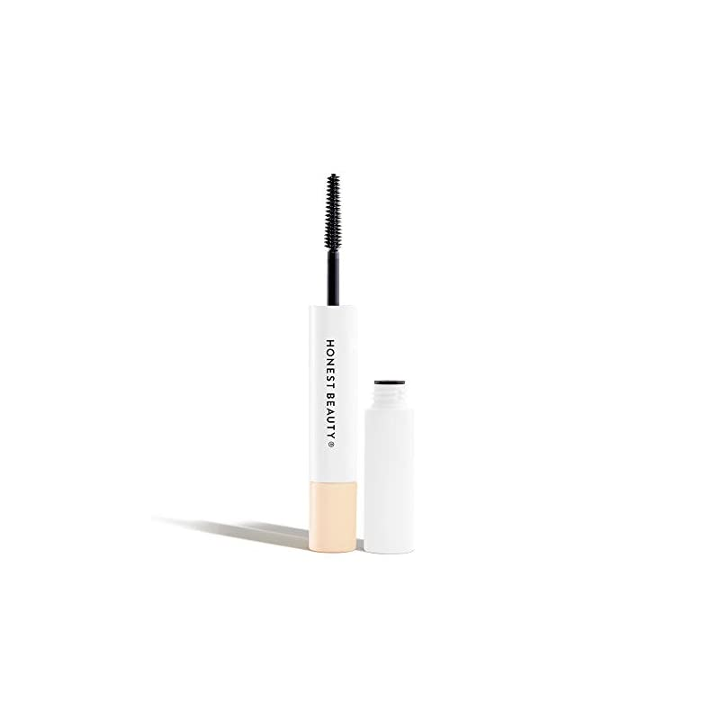 Honest Beauty Extreme Length Mascara + Lash Primer | 2-in-1 Boosts Lash Length, Volume & Definition | Silicone Free, Paraben Free, Dermatologist & Ophthalmologist Tested, Cruelty Free | 0.27 fl. oz.