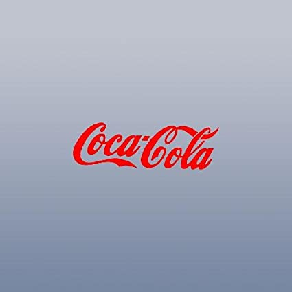 Coke COCA-COLA 6, Red Vinyl Car Decal Sticker #1768