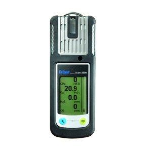 Draeger 4542278 X-am 2500 Gas Detector, alkaline O2/H2S-LC