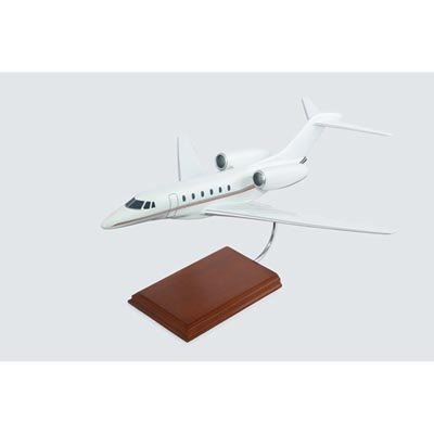 - Cessna Citation X Quality Desktop Model Plane 1/40 Scale / Unique and Perfect Gift Idea / Museum Quality Handcrafted Business Jet Aircraft Replica Display / Collectible Gift Toy