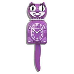 Limited Edition Radiant Orchid Lady Kit-Cat Klock