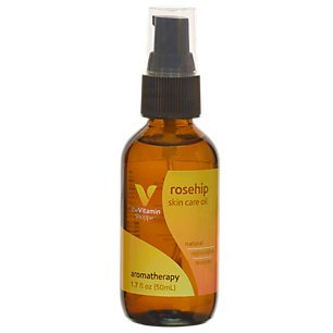 The Vitamin Shoppe Rosehip Oil, Aromatherapy Skin Care Oil, Natural Benefits to Replenishes and Restores (1.7 Fluid Ounces Oil)