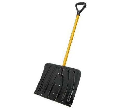 Suncast SNFA2130 18-Inch Aluminum Snow Shovel With Fiber Core Handle