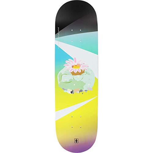 Girl Carroll Psychedelic Plants Skateboard Deck -8.37 - (Bundled with Free 1'' Hardware Set)