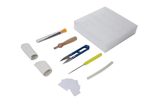 Perfect Office 1 Piece DIY Craft Kit with Tool Storage Box Wool Needle Felting Finger Sets(Random)