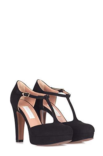 Ldh03811wp05401 Zapatos Tacón Chose Mujer De L'autre Gamuza Negro TUngEOxqw