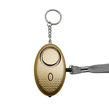 Alarma personal para mujeres Llavero de alarma de seguridad ...
