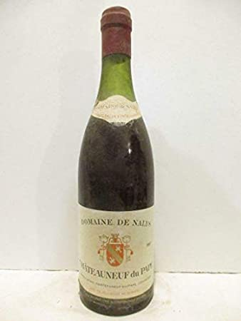 châteauneuf du pape domaine de nalys (b1) rouge 1967 - rhône