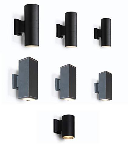 JCM Persönlichkeit einfache industrielle Wandleuchte 9cm Wandleuchte ZJ (Größe   XS Round grau single head light)