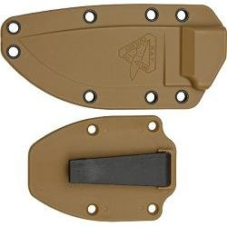 ESEE -3P Uncoated Blade & Sheath with Micarta Handles, Coyote Brown by ESEE (Image #2)