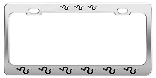 icense Plate Frame Tag Holder Auto Accessories ()
