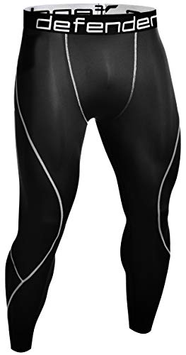 38d66bf20411f Defender Compression Pants Men Under Thermal Tights Skin Sports Fits  Running BS_M