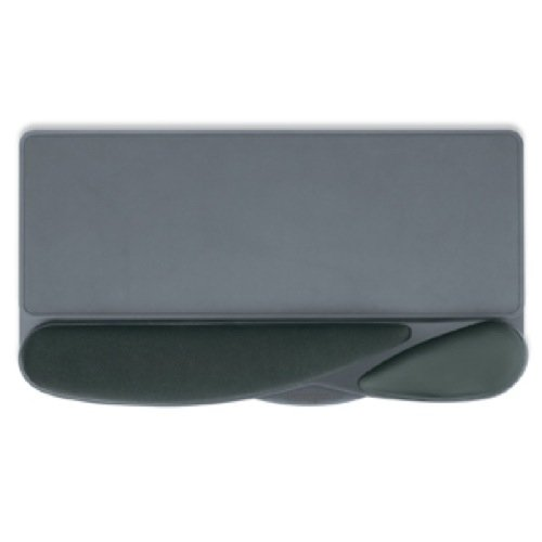 Kensington Memory Keyboard - Kensington Memory Foam Wrist Pillow Platform, Black (K62819US)