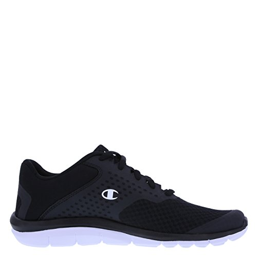 Champion Men's Black White Men's Gusto Cross Trainer 12 Wide
