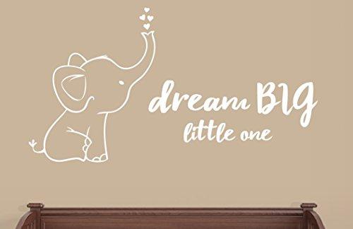 - Elephant and Dream BIG Little One Wall Decals Nursery Decor
