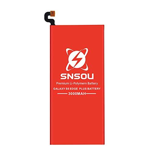Galaxy S6 Edge Plus Battery, SNSOU 3000mAh EB-BG928ABE Li-Polymer Replacement Battery for Samsung Galaxy S6 Edge Plus SM-G928 G928V G928T G928A G928P with Repair Replacement Tools [1 Year Warranty]