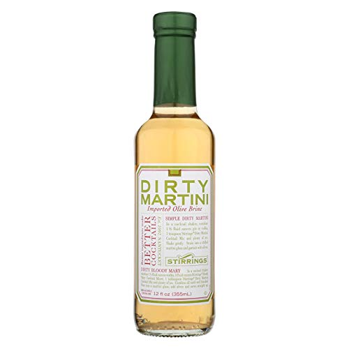 Stirrings Dirty Martini Cocktail Mixer, 12 Ounce -- 6 per case. (Best Dirty Martini Mix)