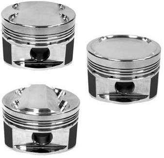 Forged Single Piston - 95-99 Mitsubishi(4G64 W/ 4G63 Head) 86.5Mm Std Bore 8.5:1 Cr Dish Piston(Single Piston)(613000C-1)