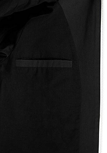 70155 Entretiempo Black Abrigo para Chaqueta 100 De con Capucha BlendShe Bibi algodón Mujer De w4OIH1