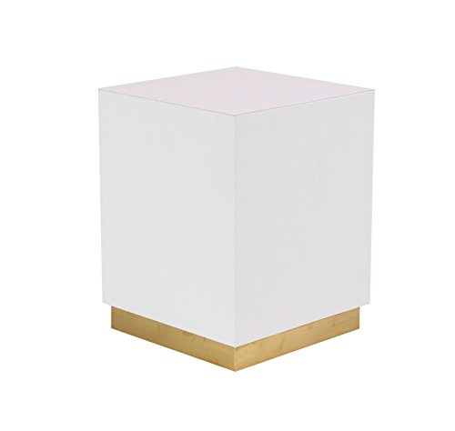 Deco 79 62776 Accent Table White, Gold by Deco 79 (Image #5)