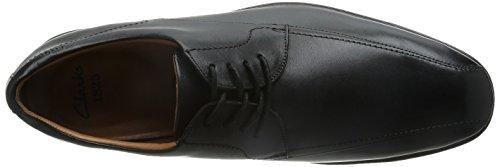 Clarks Vestir Hombre Gosworth Over Piel Zapatos De Weite Passform Tamaño 39½