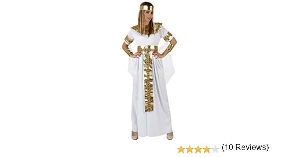 Atosa-96849 Disfraz Egipcia, color blanco, M-l (96849): Amazon.es ...