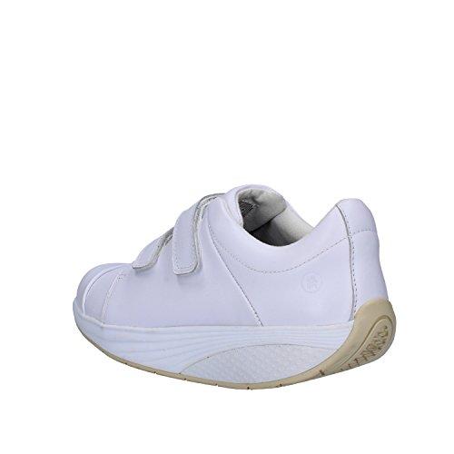 MBT Sneakers Donna 38 EU Bianco Pelle