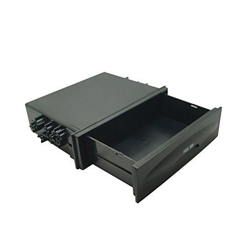 Universal Cd Dash Trim - Atreus Car Stereo Radio Dash Trim Storage Box Universal Mounting 1DIN Pocket Drawer Kit