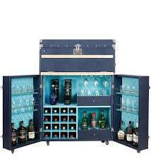Aerikle Gift Leather Bar Cabinet