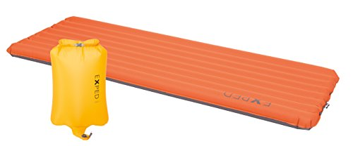 Exped SynMat XP 7 Insulated Sleeping Pad, Terracotta, Medium Wide