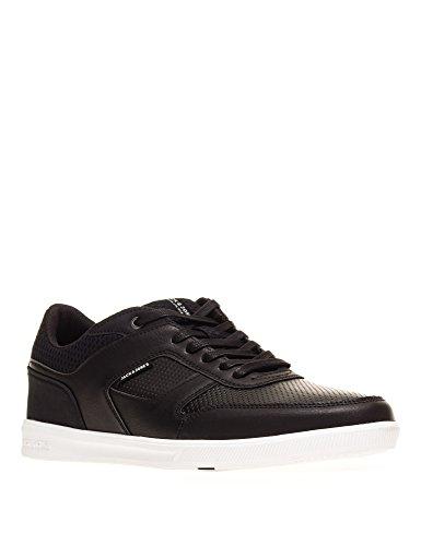 JACK & JONES Mens Blade Anthracite Mens Black Sneakers Black