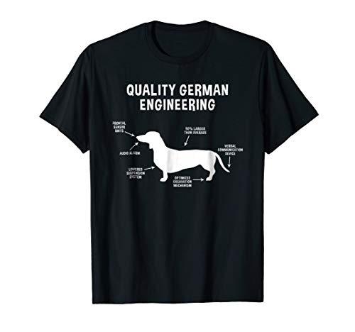 - Quality German Engineering Weiner Dachshund Shirt