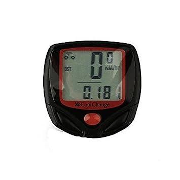 gdw cycling bike computers plastic clock riding time calculator