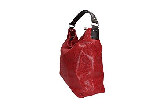 Borsa donna a spalla PIERRE CARDIN rossa in pelle MADE IN ITALY VN960 Descuento Llegar A Comprar Compras En Línea Barato meouSeAhm