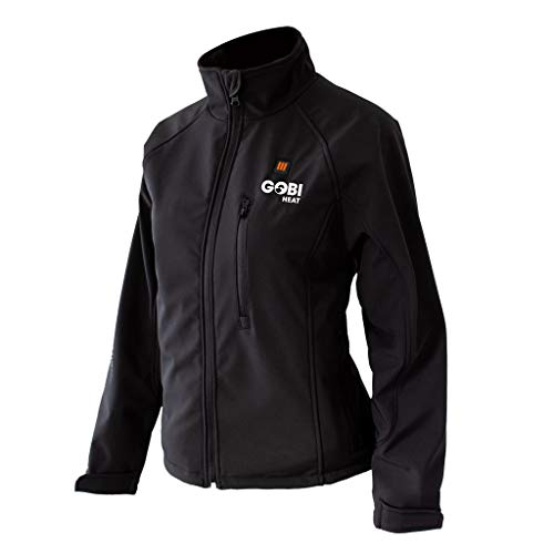 Dragon Heatwear Sahara Womens 3 Zone Heated Jacket Onyx