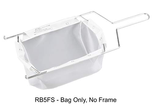 Miroil | RB5FS Fryer Filter Bag Only | MirOil EZ Flow Filter Bag | Part 12751| Use to Filter Fry Oil | Suitable for 40 lb or 50 Qt Polishing Oil | Durable, Easy to Clean with Hot Water | No Frame inc