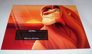 - Walt Disney's The Lion King Lithograph Set