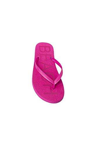 femme Séparateur S plage M Guess unies pour couleurs Pink L PSYCHOTROPICAL avec imprimé d'orteil 1ZtSdw