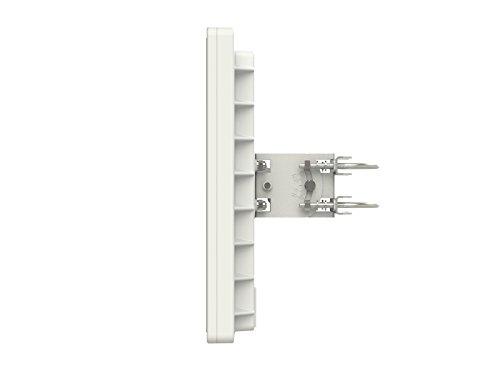 Mikrotik QRT 5 ac 24dBi 5GHz 802.11ac OSL4 Outdoor Flat Panel Antenna Dual Chain by Mikrotik